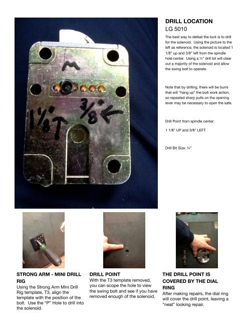 STRONG ARM - MINI DRILL R