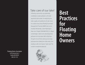 Best Practices for Floating Home Owners - Floating Homes ...
