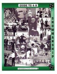 Showmanship Guide - 4-H Youth Development Program ...
