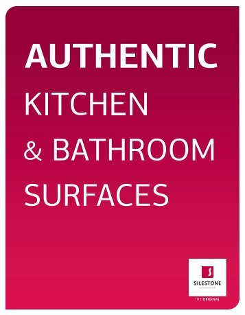 kitchen & bathroom worktops - Silestone
