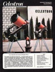 1974 Celestron International Catalog