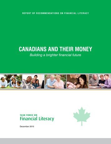 canadians and their money - The Financial Education Institute of ...