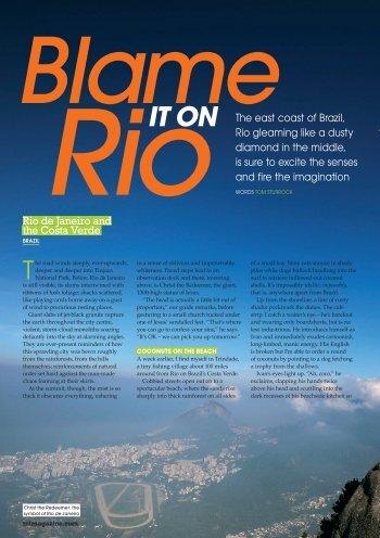 Rio and Brazilian Islands