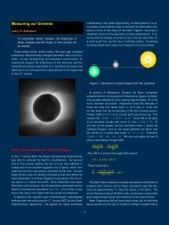 Measuring our Universe - The University of Texas at Dallas
