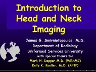 Introduction to Head and Neck Imaging - Radiology
