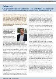 E-Gespräch - Bundesverband Solare Mobilität