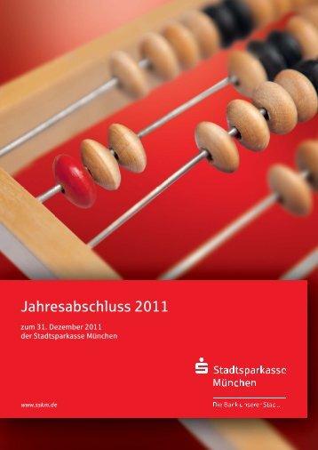 Jahresabschluss 2010 Jahresabschluss 2011 - Stadtsparkasse ...
