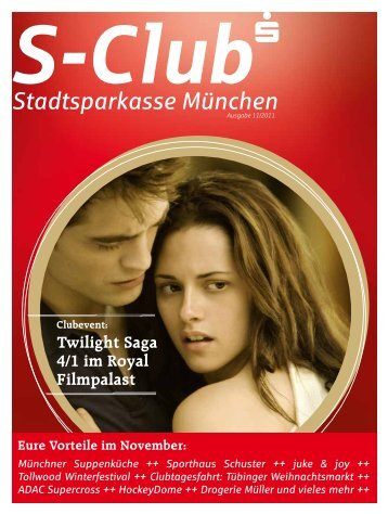 Twilight Saga 4/1 im Royal Filmpalast - Stadtsparkasse München