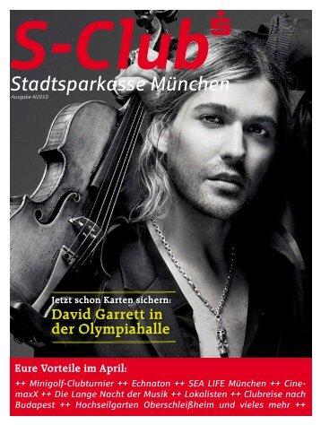 David Garrett in der Olympiahalle - Stadtsparkasse München