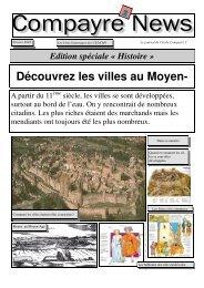les villes au Moyen-Age
