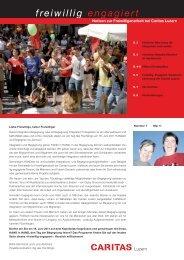 freiwillig engagiert - Caritas Luzern
