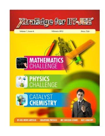 1. Xtra Edge February 2012 - Career Point
