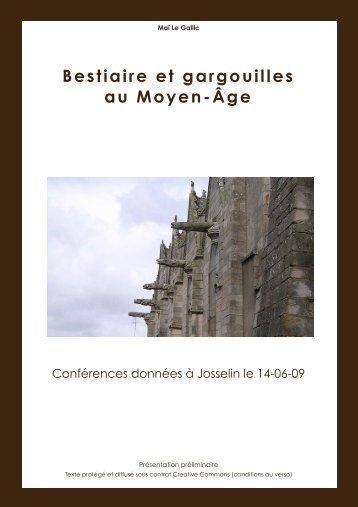 Bestiaire et gargouilles au Moyen-Âge - Histoire des Arts-Accueil