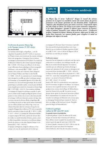 L'orfèvrerie médiévale - Musée national du Moyen Age