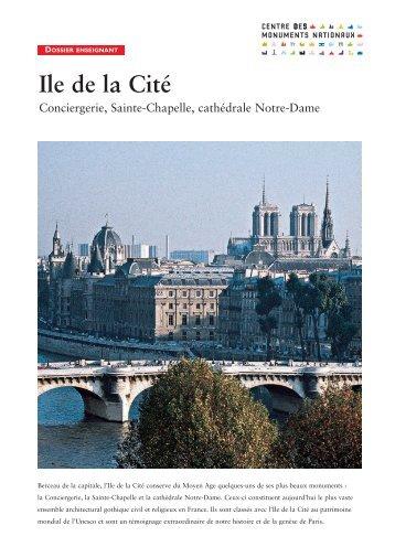 dossier enseignant - Ile de la Cité - Centre des monuments nationaux
