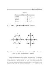 5.6 The Light Pseudoscalar Mesons