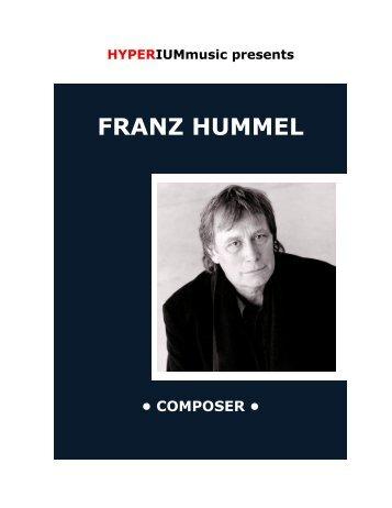 FRANZ HUMMEL - HYPERIUMmusic