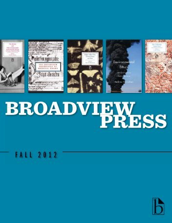 Fall 2012 Trade Catalogue - Broadview Press