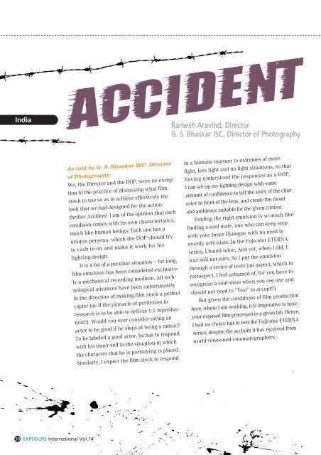 ACCIDENT - Fujifilm
