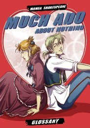 MUCH ADO ABOUT NOTHING GlOssAry - Manga Shakespeare