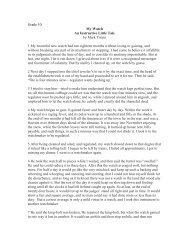 Grade 10 My Watch An Instructive Little Tale by Mark Twain 1 My ...