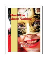 Much Ado About Nothing - The Hilberry Theatre