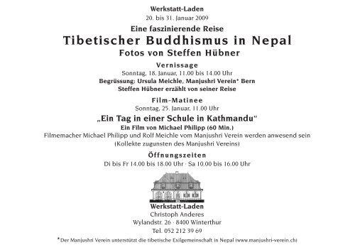 Tibetischer Buddhismus in Nepal Fotos von Steffen Hübner
