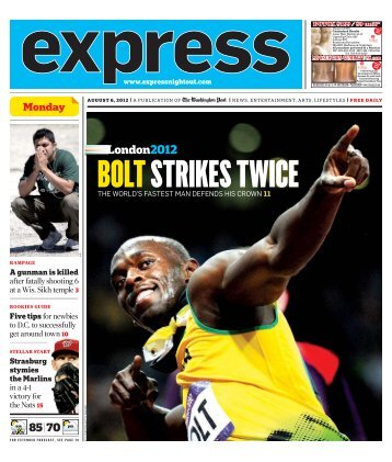 Monday August 6th, 2012 - Express