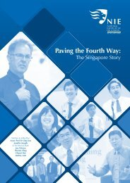 Paving the Fourth Way: - National Institute of Education