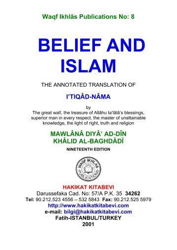 8-Belief and Islam - Hakikat Kitabevi