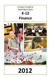 2012 Citizen's Guide to K-12 Finance - Washington State Legislature