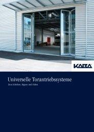Universelle Torantriebsystem - Meierhofer Garagentore | Torantriebe