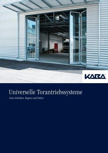 Universelle Torantriebsystem - Meierhofer Garagentore   Torantriebe