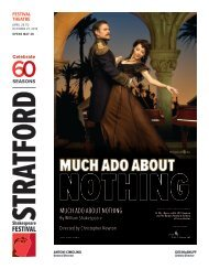 Much ado about nothing - Stratford Festival