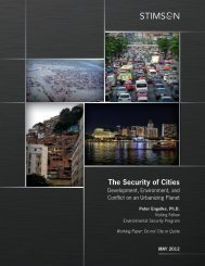 The Security of Cities: Development, Environment, and Conflict