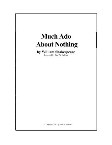 Much Ado About Nothing Quotes