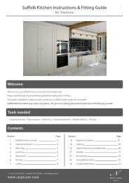Suffolk Kitchen Instructions & Fitting Guide - Neptune