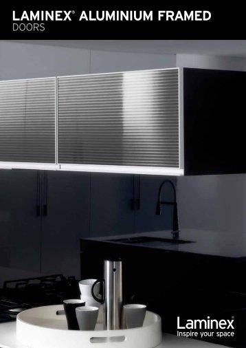 LAMINEX® ALUMINIUM FRAMED & FINELINE™ aluminium framed doors u2022 CHOICE OF SOLID ...