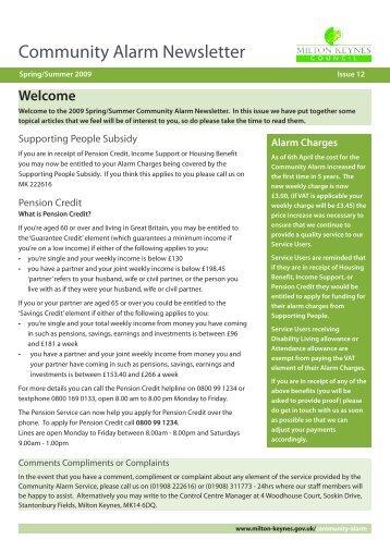 M90548 CAS News 12:M80241 - EYCC News -14 - Milton Keynes ...