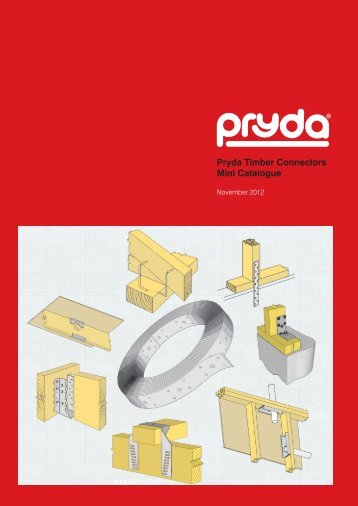 Pryda Timber Connectors Mini Catalogue - Pryda New Zealand