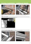 Cornice Installation Guide - Prefix Systems - Page 5