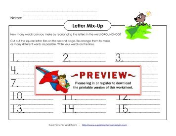 math worksheet : mixed math c 1  super teacher worksheets : Super Teachers Math Worksheets