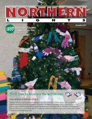 Still time to decorate the mitten tree - Beltrami Electric Cooperative