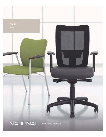 Mix-it Brochure - National Office Furniture