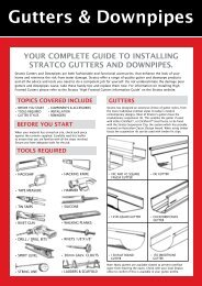 Gutters & Downpipes - Stratco