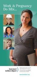 Work & Pregnancy Do Mix! Booklet