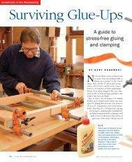 Surviving glue-Ups - Fine Woodworking
