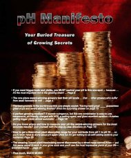 pH Manifesto - The Growers Underground