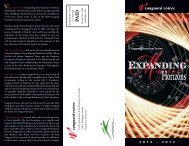 Season Brochure - Vanguard Voices