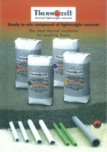 I-I ® Ready to mix - Thermozell Entwicklungs